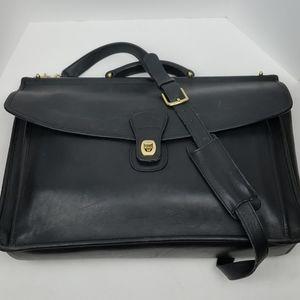 Vintage Coach Beekman Bag Black